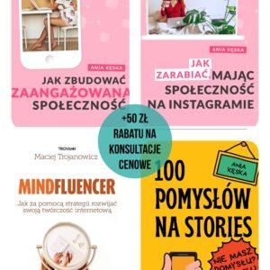 Pakiet 4 e-booki+ 50 zł rabat na konsultacje cenowe